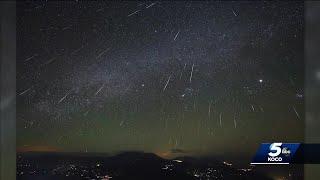 Geminid meteor shower to light up Oklahoma sky Thursday night, Friday morning