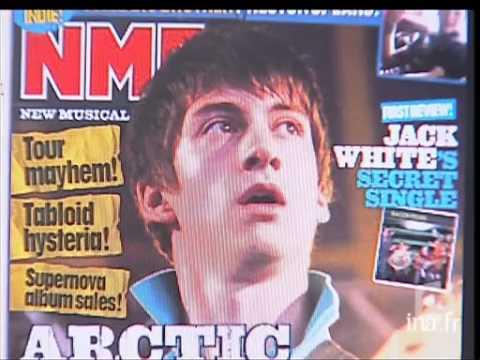 Arctic Monkeys au JT de 20h sur France 2 le 6 mars 2006