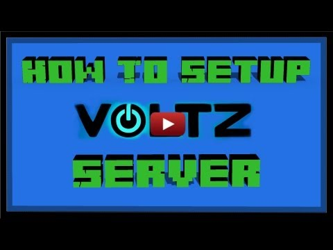 How to Setup Minecraft Voltz Bukkit Server! (Simple) 1.4.7 1.0.11