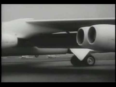 1956 B52's Make Record Flight