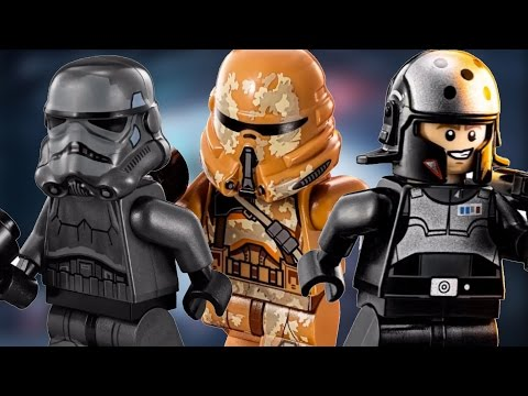 NEW 2015 LEGO Star Wars WINTER Sets (4K Quality)