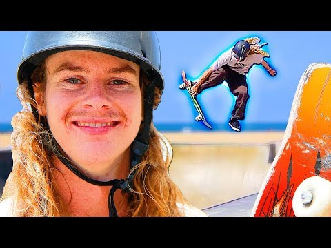 THE MOST CREATIVE SKATER AT VENICE SKATEPARK!