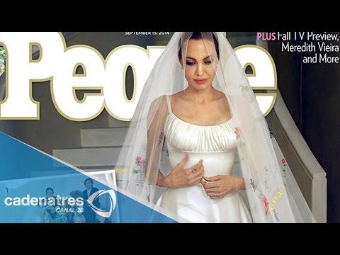 Boda de Angelina Jolie y Brad Pitt / Imágenes de la boda de Angelina Jolie y Brad Pitt