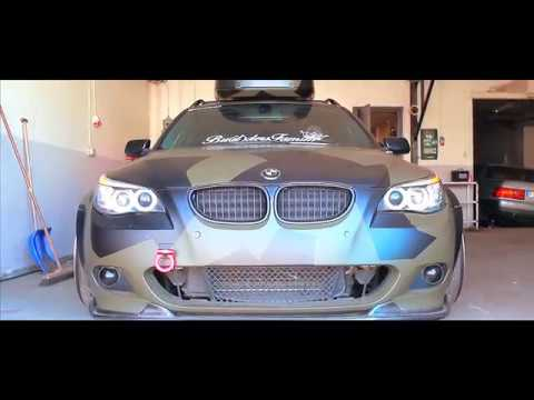 Bmw e61 widebody camo | Builders Family