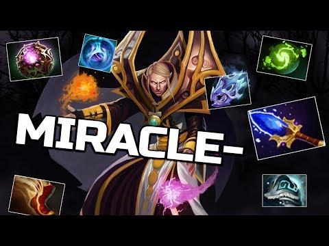 Miracle- Invoker God WTF Comeback - 9k EPIC Gameplay Dota 2