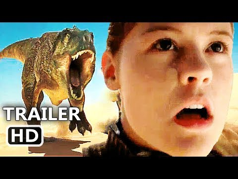 JURASSIC GAMES Official Trailer + Clip (2018) Dinosaur Movie HD
