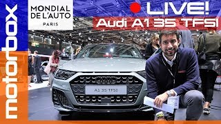 Nuova Audi A1 35 TFSI Sportback   Live dal salone di Parigi 2018