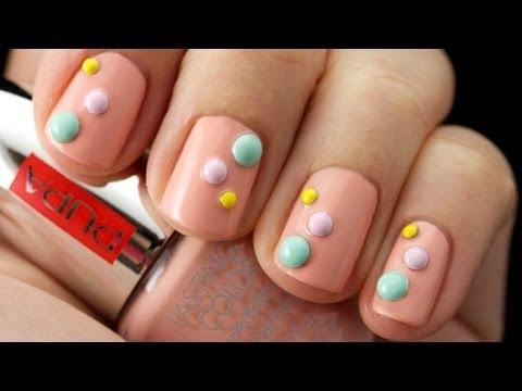 Come applicare le borchie per unghie Rock Studs   #nailart   Trendynail per PUPA Nail Academy