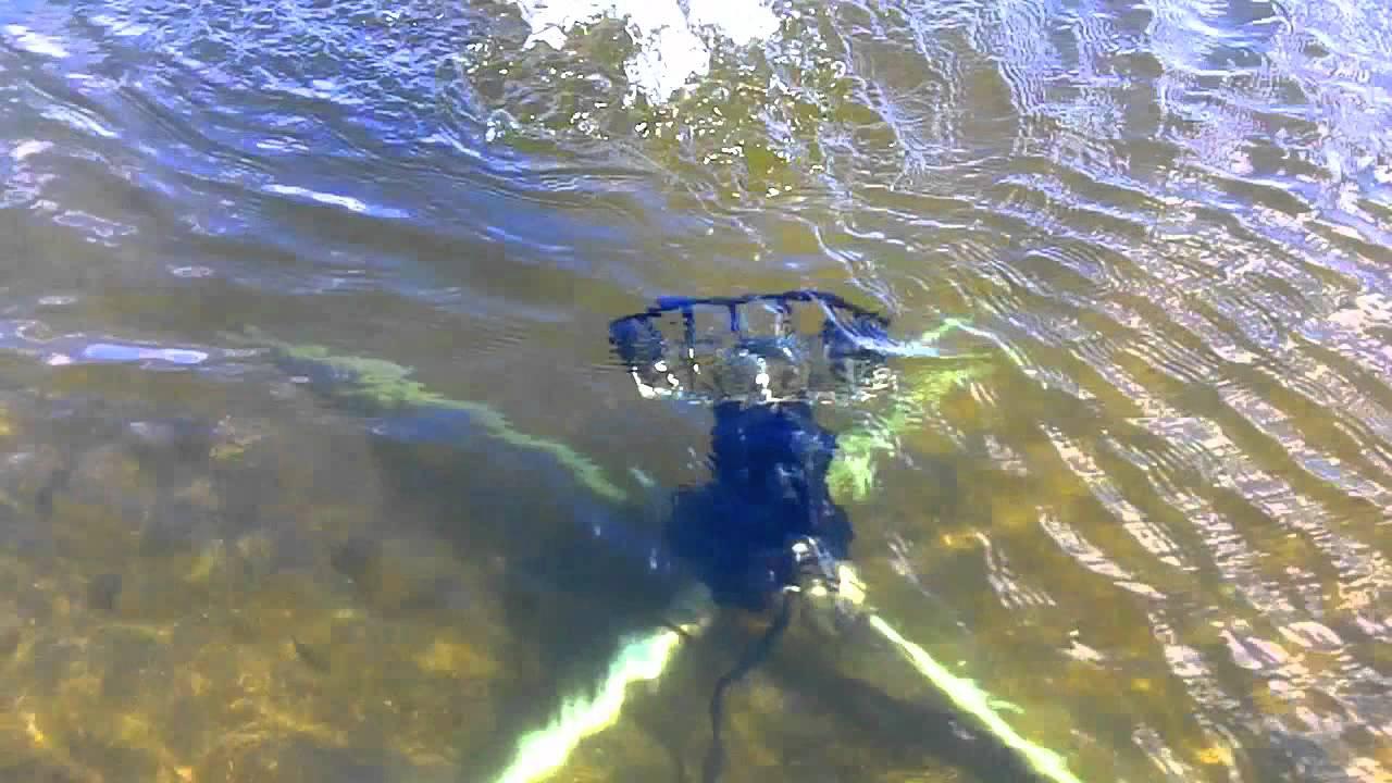 Battery Powered Pond Aerator Water Circulator Youtube