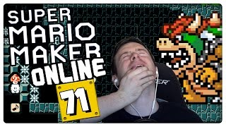 SUPER MARIO MAKER ONLINE Part 71: Bowser's Chambers of Doom