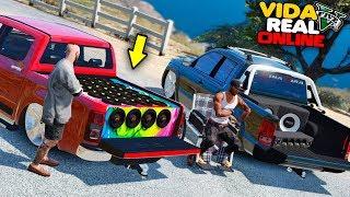 GTA V : VIDA REAL | FUI DESAFIADO NO RACHA DE SOM COM A S10 !! #566