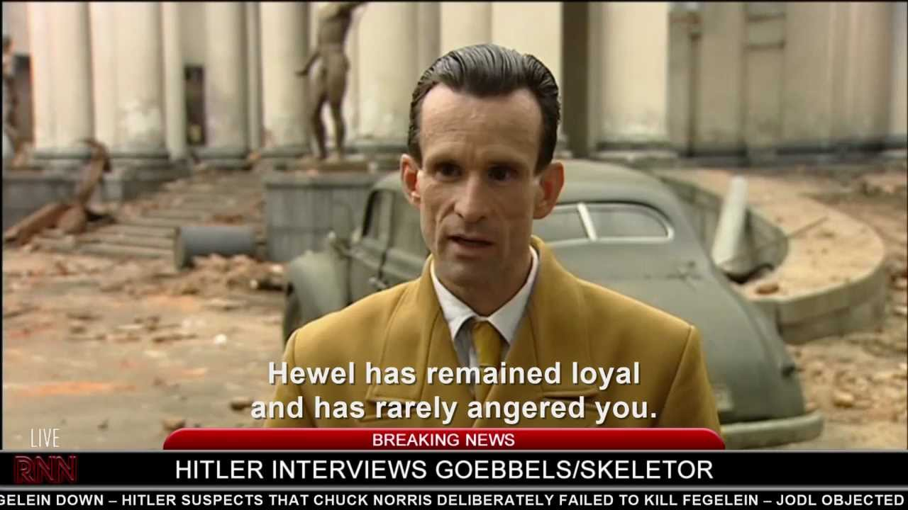 Hitler interviews Goebbels/Skeletor