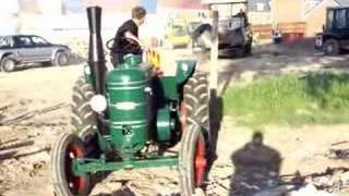 field marshal winching out a tarmac machine