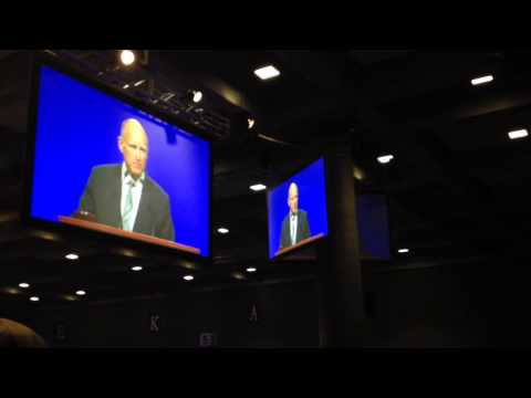 Jerry Brown addresses school union