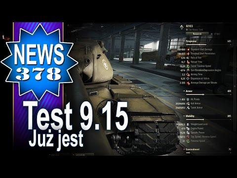 Test serwer 9.15 - już jest - NEWS - World of tanks