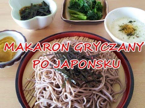 Makaron Gryczany SOBA japoński przepis,jajka przepiórcze,odchudzające,DIETA OKINAWA CUD,co jem