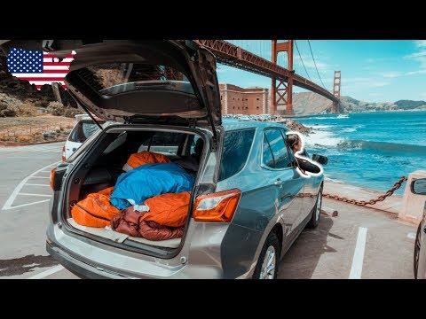 SO reist man GÜNSTIG durch die USA ∙ San Fransisco Highlights ∙ USA Roadtrip ∙ Weltreise Vlog #83