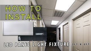 How to install LED Panel