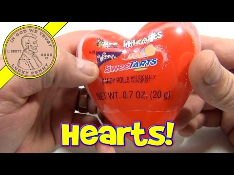 Heart Shaped Wonka Sweet Tarts - Valentine's Candy Series