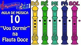 download musica Flauta Doce Contralto para Iniciantes Aula de Música 10 - Aprendendo o Dó Ré Mi