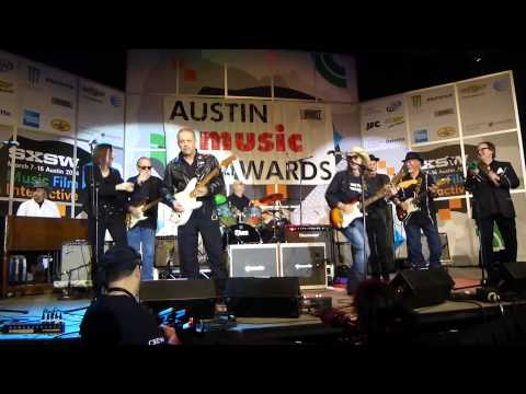 Texas Tornados with Jimmie Vaughan and Lou Ann Barton - Austin Music Awards 2014