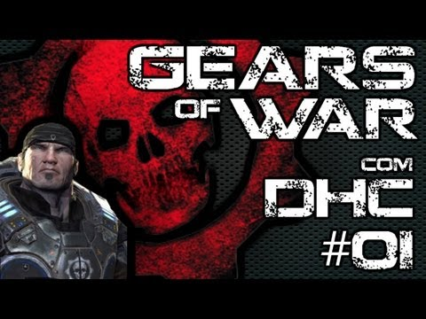 Gears Of War - Coop - Playthrouth Com Detohardcore #01