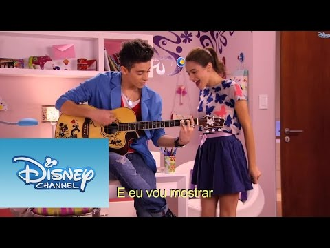 Violetta Momento musical: Violetta e Federico cantam