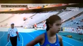 IAAF World Junior Championships 100m women heat 2