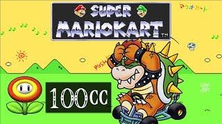 Super Mario Kart (SNES) [Part 37] - 100cc Flower Cup [Bowser] スーパーマリオカート