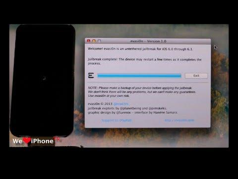 การ Jailbreak สำหรับ iOS 6.0 ถึง 6.1 [Untethered]   We Love iPhone TH