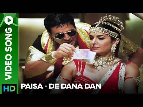 Paisa (video Song) | De Dana Dan |akshay Kumar | Katrina Kaif video