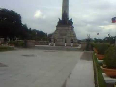 Change of Guards At Rizal Park in Manila Phillippines