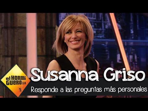 Las siete preguntas más personales de Pablo Motos a Susanna Griso - El Hormiguero 3.0