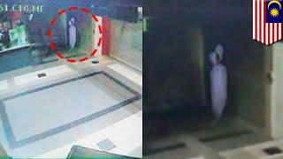 CCTV rekam penampakan pocong di stasiun MRT Malaysia - TomoNews