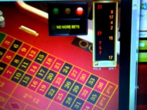 Ladbrokes live online roulette scam video 3/7