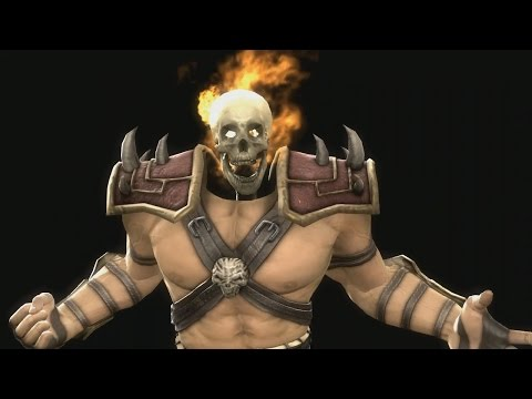 Mortal Kombat 9 Komplete Edition - Shao Kahn *All Fatality Swap**MOD* (HD)