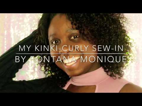 My Kinky Curly-Sew In & Amazon Hair Review