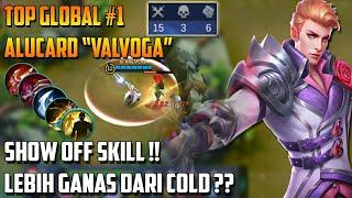 Download Lagu Ketika Top Global #1 Alucard Pamer Skill !! - Lebih Gila&Ganas Dari COLD?? Gratis STAFABAND