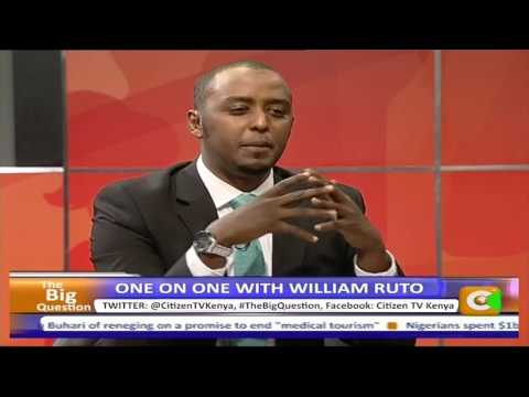 One on One with Deputy President William Ruto (Full Interview)