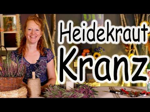 DIY: Heidekranz mit Windlicht | Tischdeko | Tischkranz | Türkranz | Herbstdeko | Floristik24