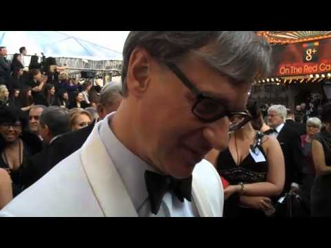 "Oscar Red Carpet: ""Bridesmaids"" Director Paul Feig"