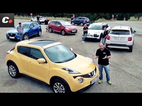 Mazda CX-3. Fiat 500X. Renault Captur. Nissan Juke. 2008. Mokka. C4 Cactus   Prueba SUV / Crossover