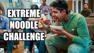Extreme Ghost Pepper Korean Noodle Challenge