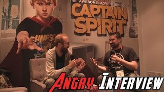 Captain Spirit - Angry Interview E3 2018!