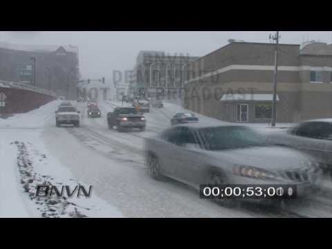 2/26/2009 Winter Storm News Video from Saint Cloud, MN.