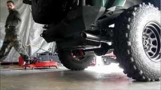 Jeep TJ Dynomax 17345 Exhaust System