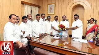 Goud Community Leaders Meets And Expresses Thanks To CM KCR Over Gouds Welfare Schemes