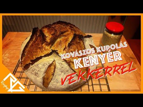 Kovászos kupolás kenyér vekkerrel / Béres Gyula