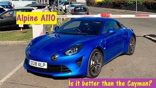 Alpine A110 - Better than the Cayman? Why less is more