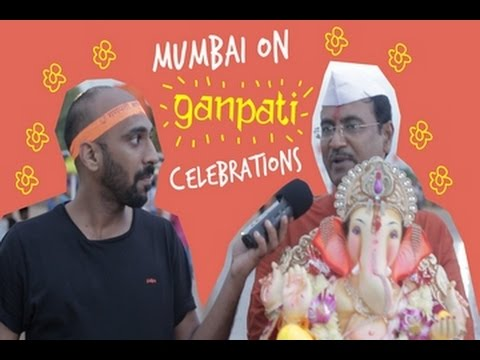 Mumbai on Ganpati Celebration